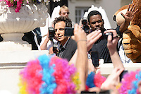 Ben Stiller and David Schwimmer attending the Madagaskar III photocall at Carlton hotel during Cannes International Film Festival in Cannes, France, 17.05.2012..Credit: Timm/face to face /MediaPunch Inc. ***FOR USA ONLY***