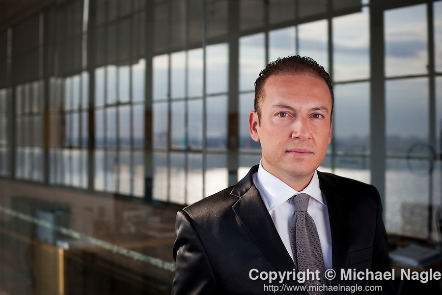 NEW YORK --  SEPTEMBER 2, 2011:  Stefano Curti, Johnson & Johnson's president of global skincare, poses for a portrait on September 2, 2011 in New York City.  (Photo by Michael Nagle)
