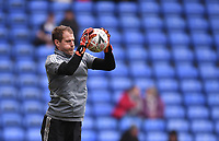 25th January 2020; Madejski Stadium, Reading, Berkshire, England; English FA Cup Football, Reading versus Cardiff City; Alex Smithies of Cardiff City warms up