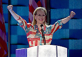 Meryl Streep makes remarks during the second session of the 2016 Democratic National Convention at the Wells Fargo Center in Philadelphia, Pennsylvania on Tuesday, July 26, 2016.<br /> Credit: Ron Sachs / CNP<br /> (RESTRICTION: NO New York or New Jersey Newspapers or newspapers within a 75 mile radius of New York City)