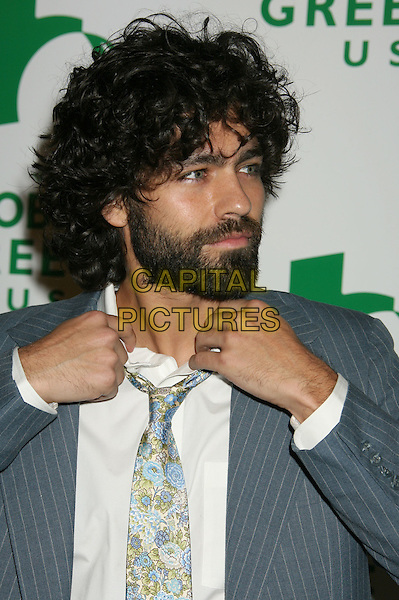 ADRIAN GRENIER.Global Green USA's 5th Annual Pre-Oscar Party held at Avalon Hollywood, Hollywood, California, USA..February 20th, 2008.headshot portrait facial hair beard adrien  hands.CAP/ADM/RE.©Russ Elliot/AdMedia/Capital Pictures.