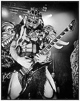 Gwar performs at the House of Blues in 2014 in New Orleans, LA.