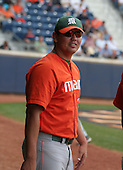 Anthony Nalepa of the Miami Hurricanes vs. the Virginia Cavaliers: March 24th, 2007 at Davenport Field in Charlottesville, VA.  Photo copyright Mike Janes Photography 2007.