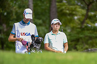 I.K. Kim (KOR) looks over her tee shot on 14 during round 2 of the U.S. Women's Open Championship, Shoal Creek Country Club, at Birmingham, Alabama, USA. 6/1/2018.<br /> Picture: Golffile | Ken Murray<br /> <br /> All photo usage must carry mandatory copyright credit (&copy; Golffile | Ken Murray)