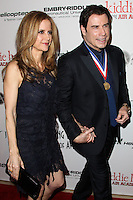 BEVERLY HILLS, CA - JANUARY 17: Kelly Preston, John Travolta at the 11th Annual Living Legends Of Aviation Awards held at The Beverly Hilton Hotel on January 17, 2014 in Beverly Hills, California. (Photo by Xavier Collin/Celebrity Monitor)