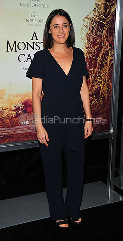 New York, NY: December 7: Belen Atienza  attends 'A Monster Calls' New York Premiere at AMC Loews Lincoln Square 13 theater on December 7, 2016 in New York City.@John Palmer / Media Punch