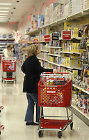Shoppers peruse the toy section of a Target store Tuesday, Nov. 14, 2006 in Columbus, Ohio.<br />