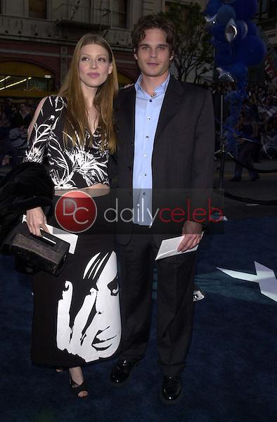 Amber Benson and Greg Rikaart