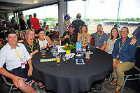 Corporate boxes. Day one of the 2018 HSBC World Sevens Series Hamilton at FMG Stadium in Hamilton, New Zealand on Saturday, 3 February 2018. Photo: Dave Lintott / lintottphoto.co.nz