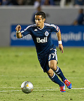 CARSON, CA - June 23, 2012: Vancouver Whitecaps forward Camilo (37) during the LA Galaxy vs Vancouver Whitecaps FC match at the Home Depot Center in Carson, California. Final score LA Galaxy 3, Vancouver Whitecaps FC 0.