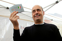 One of the candidates, Nicola Zingaretti voting in Rome<br /> Rome March 3rd 2019. Italian Democratic Party leadership election.<br /> Foto Samantha Zucchi Insidefoto