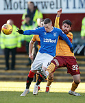 15.12.2019 Motherwell v Rangers: Ryan Kent and Liam Donnelly