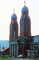 Pittsburgh: Braddock, St. Peter and St. Paul Greek Orthodox Church. Photo 2001.