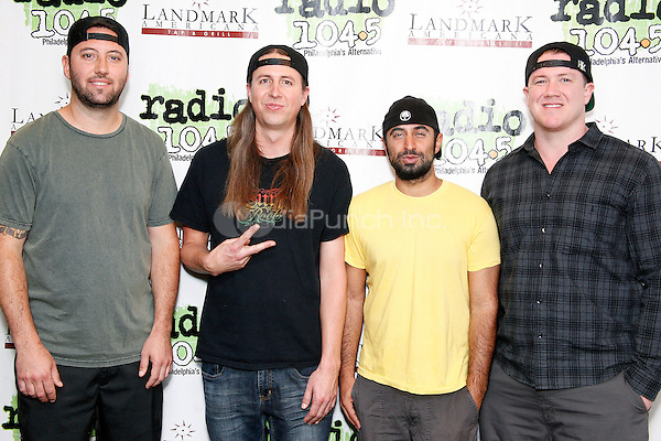 BALA CYNWYD, PA - JUNE 10 :  Rebelution visit Radio 104.5 performance studio in Bala Cynwyd, Pa on June 10, 2016  photo credit Star Shooter / MediaPunch
