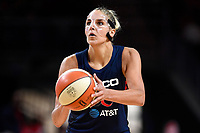 Washington, DC - July 30, 2019: Washington Mystics forward Elena Delle Donne (11) during game between the Phoenix Mercury and the Washington Mystics at the Entertainment & Sports Arena in Washington, DC. The Mystics defeated the Mercury 99-93. (Photo by Phil Peters/Media Images International)