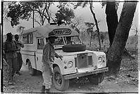 Ziguinchor hospital ambulance -Fall 1973