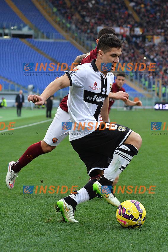 Jose Mauri Parma <br /> Roma 15-02-2015 Stadio Olimpico, Football Calcio Serie A AS Roma - Parma Foto Andrea Staccioli / Insidefoto