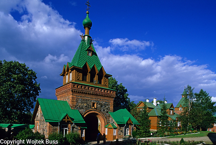 Estonia,Kuremae,Russian Orthodox Puhtitsa Convent