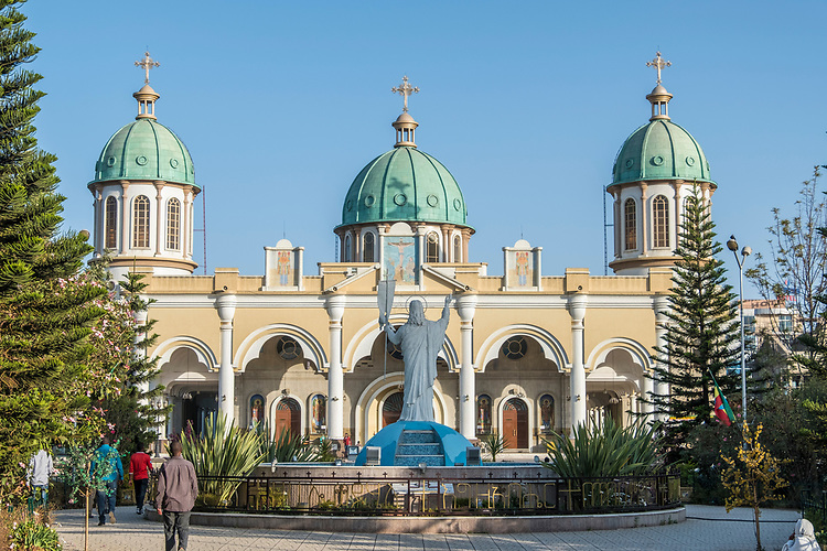 Otherwise known as the Holy Trinity Cathedral, this location became the final resting place of Emperor Haile Selassie.