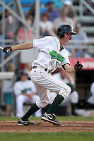 Jamestown Jammers second baseman Danny Black (50) during a game vs. the Staten Island Yankees at Russell Diethrick Park in Jamestown Jammers, New York July 15, 2010.   Jamestown defeated Staten Island 5-1.  Photo By Mike Janes/Four Seam Images