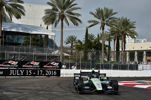 11-13 March, 2016, St Petersburg, Florida USA<br /> 18 Conor Daly<br /> ©2016 Scott R LePage <br /> LAT Photo USA