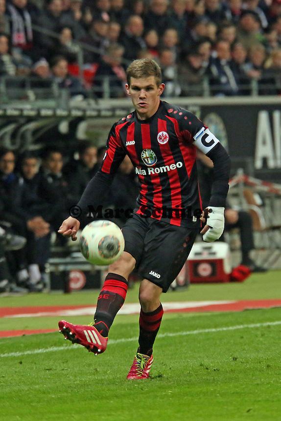Sebastian Jung (Eintracht) - Eintracht Franfurt vs. Borussia Mönchengladbach, Commerzbank Arena