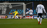 GOAL - Lee Gregory of Millwall scores to make it 1-0 during the Sky Bet Championship match between Millwall and Sheff United at The Den, London, England on 2 December 2017. Photo by Carlton Myrie / PRiME Media Images.