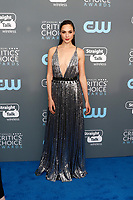 Gal Gadot attends the 23rd Annual Critics' Choice Awards at Barker Hangar in Santa Monica, Los Angeles, USA, on 11 January 2018. - NO WIRE SERVICE - Photo: Hubert Boesl/dpa /MediaPunch ***FOR USA ONLY***