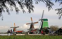 Zaanse Schans - Molens  in het Openluchtmuseum de Zaanse Schans