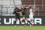 nph0001:  17.05.2020 --- Fussball --- Saison 2019 2020 --- 2. Fussball - Bundesliga --- 26. Spieltag: FC Sankt Pauli - 1. FC Nürnberg ---   DFL regulations prohibit any use of photographs as image sequences and/or quasi-video - Only for editorial use ! --- <br /> <br /> Jubel - Marvin Knoll (5, FC St. Pauli ) Viktor Gyökeres Gyoekeres (9, FC St. Pauli ) <br /> <br /> Foto: Daniel Marr/Zink/Pool//via Kokenge/nordphoto