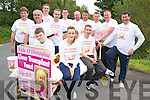 Pictured at the Luke O'Donoghue bed push in Killarney on Saturday were Tony Barrett, Pat Jewitt, Patrick Roberts, Eoin Relilhan, Neil Whitely, Denis Duggan, Doug Nyland, Connie Murphy, Fiona McSweeney, John O'Shea, Jerry O'Sullivan and Donal Doherty...........................................................................................