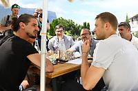 Torwart Manuel Neuer (Deutschland Germany) - 05.06.2018: Media Day der Deutschen Nationalmannschaft zur WM-Vorbereitung in der Sportzone Rungg in Eppan/Südtirol