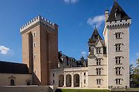 France, Aquitaine, Pyrénées-Atlantiques, Béarn, Pau:  Château de Pau //  France, Pyrenees Atlantiques, Bearn, Pau: Pau Castle