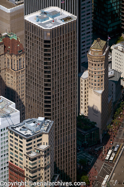 aerial photograph McKesson Plaza Hobart Building Market Street San Francisco California