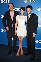 Jason Segel, Cobie Smulders and Josh Radnor at the 2012 CBS Upfront at The Tent at Lincoln Center on May 16, 2012 in New York City. © RW/MediaPunch Inc.