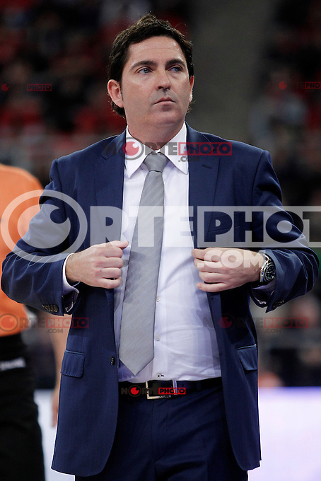FC Barcelona Regal's coach Xavi Pascual during Spanish Basketball King's Cup match.February 07,2013. (ALTERPHOTOS/Acero) /Nortephoto