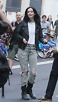 NEW YORK, NY July 06: Krysten Ritter on the set of Netflix's Jessica Jones in New York City on July 06, 2018. <br /> CAP/MPI/RW<br /> &copy;RW/MPI/Capital Pictures