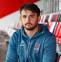 1st October 2019 | Ulster Match Briefing<br /> <br /> Greg Jones during the Ulster Match Briefing ahead to their Sixth African tour at Gibson Park,  Belfast, Northern Ireland. Photo by John Dickson / DICKSONDIGITAL