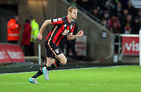 Shaun MacDonald of Bournemouth during the Barclays Premier League match between Swansea City and Bournemouth at the Liberty Stadium, Swansea on November 21 2015