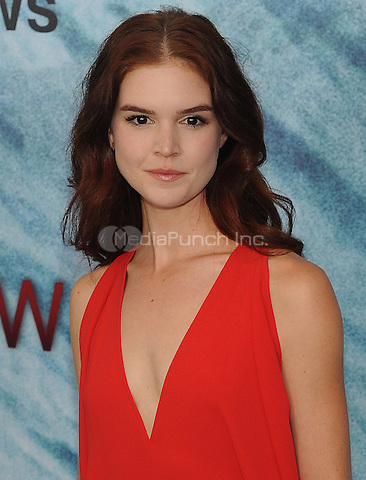 "NEW YORK, NY - June 21:  Emily Tyra attends the NEw York premiere for ""The Shallow"" at the Loews AMC on June 21, 2016   in New York City .  Photo Credit: John Palmer/ MediaPunch"