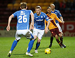 Motherwell v St Johnstone..30.12.15  SPFL  Fir Park, Motherwell<br /> Brian Easton<br /> Picture by Graeme Hart.<br /> Copyright Perthshire Picture Agency<br /> Tel: 01738 623350  Mobile: 07990 594431