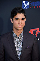 """LOS ANGELES, USA. August 14, 2019: Davi Santos at the premiere of """"47 Meters Down: Uncaged"""" at the Regency Village Theatre.<br /> Picture: Paul Smith/Featureflash"""