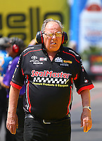 Mar 20, 2016; Gainesville, FL, USA; NHRA top fuel team owner Connie Kalitta during the Gatornationals at Auto Plus Raceway at Gainesville. Mandatory Credit: Mark J. Rebilas-USA TODAY Sports