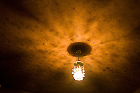 ROMANIA / Maramures / Sarbi / 28.09.2006 ..A ceiling in a traditional peasant home.  ..© Davin Ellicson / Anzenberger