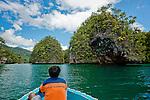 Small islets en route to Triton Bay, Papua.