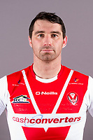Picture by Bernard Platt/St Helens - 29/01/18 - Rugby League - Super League - St Helens Media Day 2018 - The Totally Wicked Stadium, Langtree Park, St Helens, England - Matty Smith.