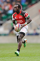 Michael Wanjala of Kenya in action during Day Two of the iRB Marriott London Sevens at Twickenham on Sunday 11th May 2014 (Photo by Rob Munro)