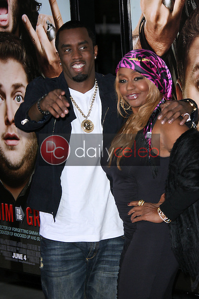Sean Combs, Janice Combs<br />