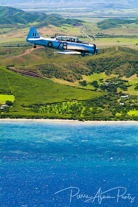Avion P40 sur la côte Ouest