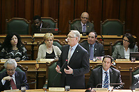 Montreal (Qc) CANADA - 2011 File Photo - Montreal Mayor Gerald Tremblay at city Hall
